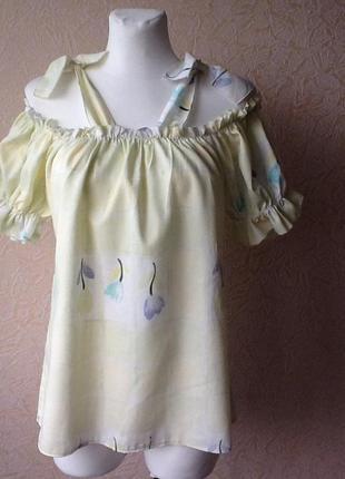 2 хлопковая блуза- маечка