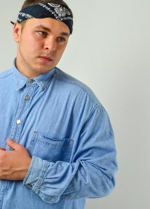 Levi's светлая джинсовая рубашка в стиле вестерн с карманами, сорочка