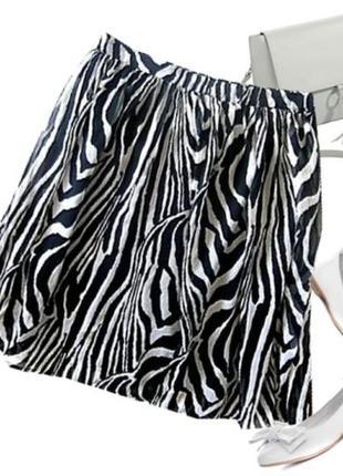 Шифоновая юбка размер 46-48