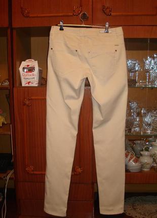 38 р. оригинал фирменные коттоновые штаны/скини4 фото