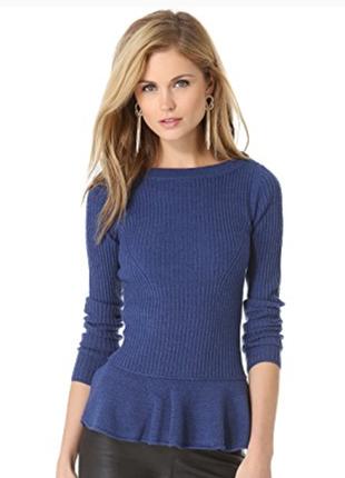 Tory burch красивый свитер из мериносовой шерсти