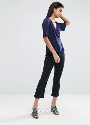 Шикарная легкая блуза на запах