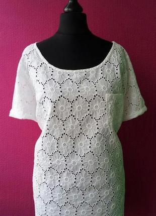 Натуральная блуза,прошва