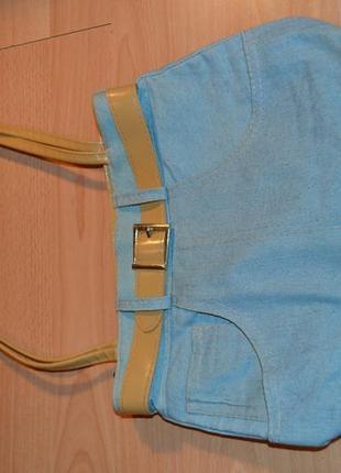 Джинсовая сумочка5 фото