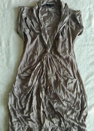 Шелковое платье 100% шелк шёлк