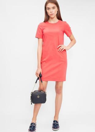 Красивое трикотажное платье - футболка