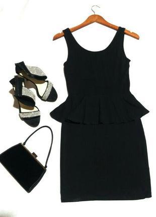 Платье комплект миди, костюм, платье с воланом topshop