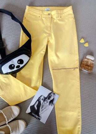 Стильные/яркие/джинсы от sassofono размер m-s
