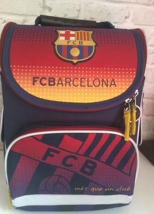 Рюкзак и мешок для сменки kite fcb barcelona