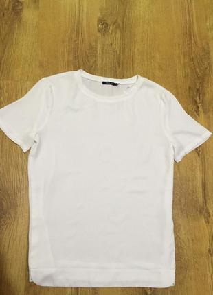 Белая футболка блуза incity