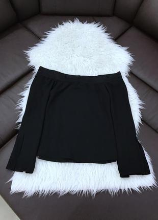 Блузка с открытыми плечами от zara