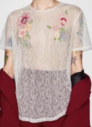 Блуза zara s m
