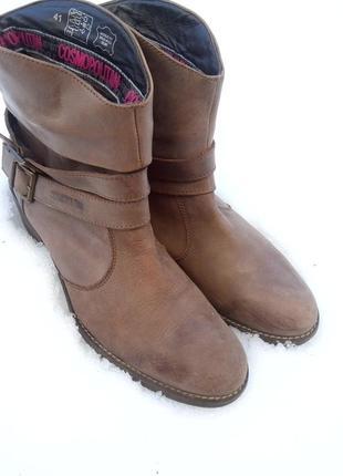 Кожаные демисезонные ботинки,ботильоны,сапоги,лоферы cosmopolitan