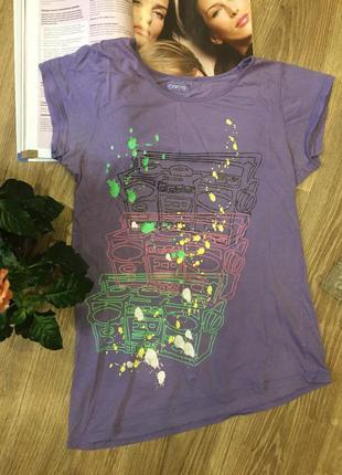 Яркая асимметричная футболка полная распродажа -50% 🔥