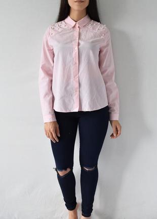 Рубашка с бусинами primark