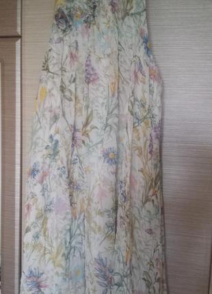 Нежное шелковое платье от zara
