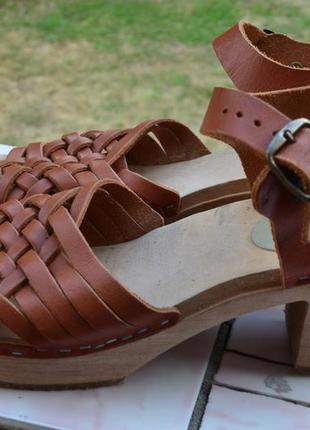 Босоножки, сандалии moheda натуральная кожа швеция 39-40