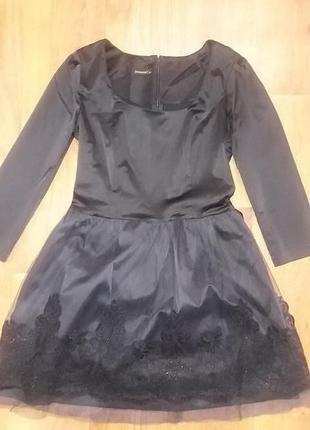Платье-пачка кружевное just women