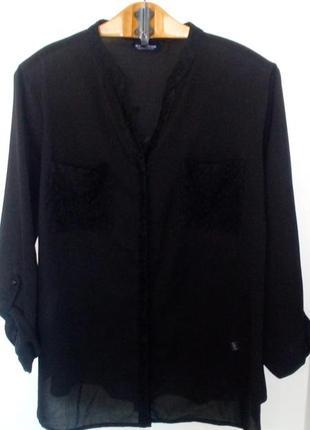 Черная блуза c&a