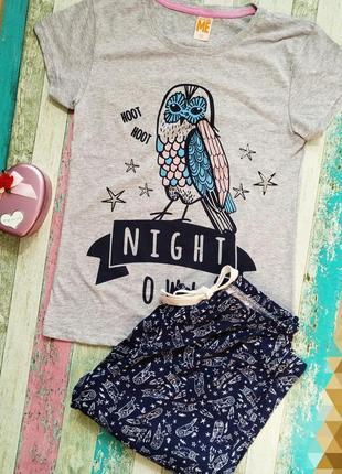 Пижама женская футболка с штанами / одежда для дома despicable me