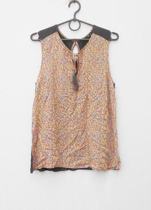 Летняя легкая блузка из вискозы