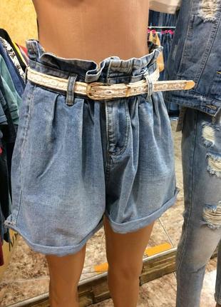 Шорты джинсовые есть размеры