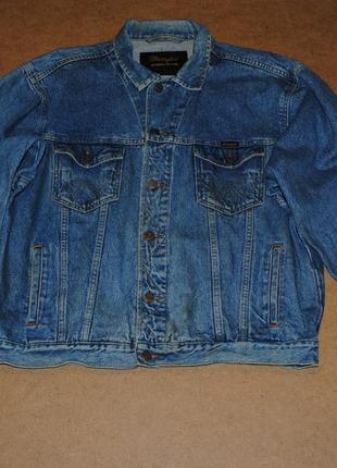 Wrangler джинсовая куртка, джинсовка