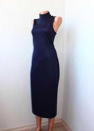 H&m шикарное платье миди, открытая спина