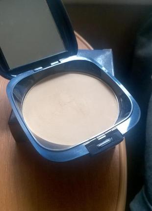 Компактная шелковая пудра cm