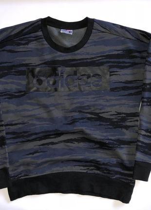 Свитшот кофта adidas original climalite размер s 8-10