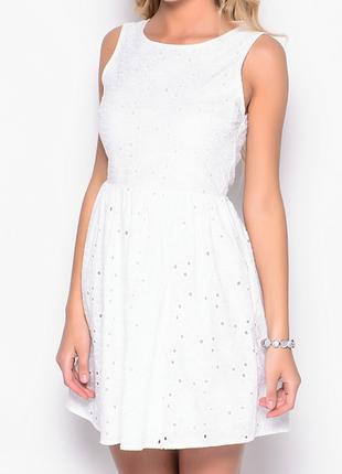 Котоновое платье new look