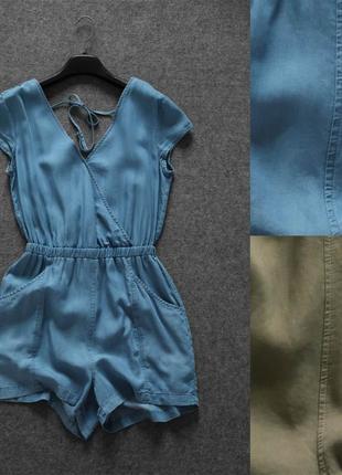 Комбинезон ромпер cotton on синий австралия