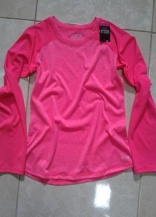 Функциональная кофта реглан для спорта цвет розовый меланж 10-11 лет matalan