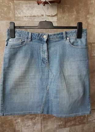 Next cтильная джинсовая юбка4