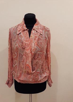 Легкая блуза / elegance collection. оригинал!
