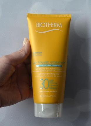 Biotherm lait solaire spf 30 солнцезащитное молочко