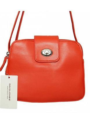 Женская сумка из экокожи david jones cm 5520-2