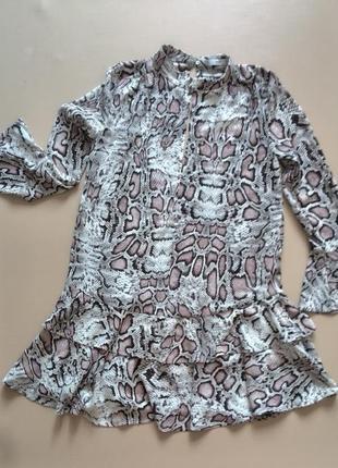 Леопардовое платье от mango