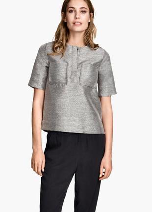 Блуза h&m в стиле cos на м-л