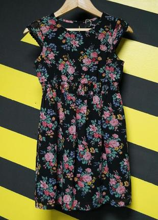 Шифоновое платье в цветочек george