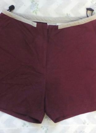 Короткие  шорты nike оригинал марсала