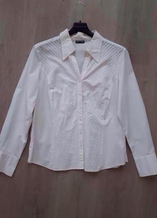 Офисная белая блуза garry weber