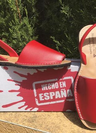 Менорки женские испанские кожаные, оригинал