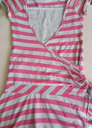 Платье miss e-vie в полоску.1