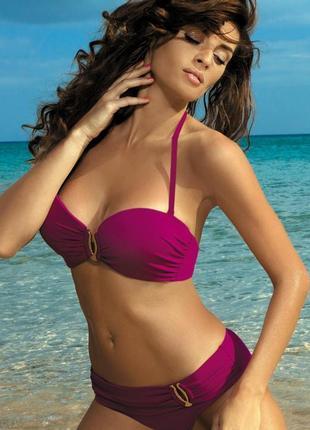 Salma marko фиолетовый раздельный купальник