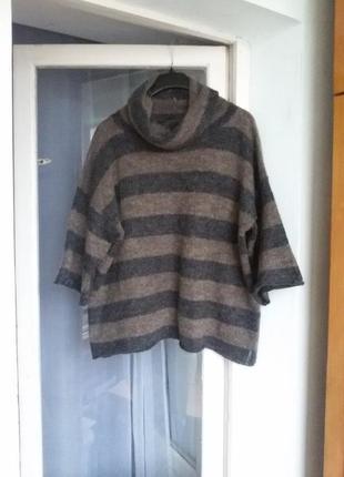 Свободный обьемный джемпер / свитер оверсайз marc o polo 70% мохер