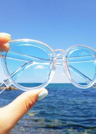 Имиджевые солнцезатные очки. солнцезащитные очки.очки.прозрачные очки
