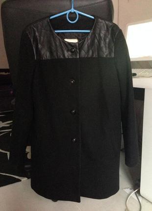 Пальто mango шерсть
