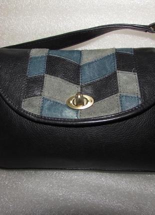 Hotter~ удобная сумка 100% натуральная кожа ~англия