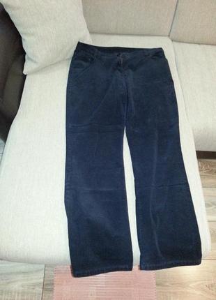 Штаны брюки вельветовые marks&spencer